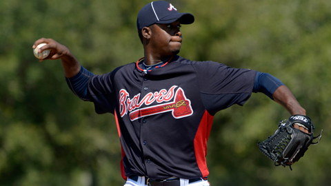 Arodys Vizcaino will likely cause some problems for Carolina League hitters.