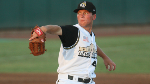 Robbie Erlin's 2.20 ERA in six starts is third-best in the Texas League.