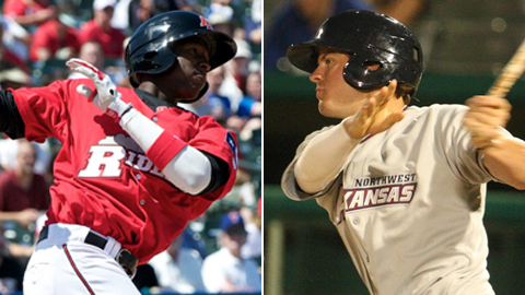 Jurickson Profar and Wil Myers are the top two hitting prospects currently in the Texas League.