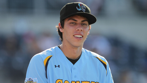 Christian Yelich earned a selection to the FSL All-Star Game.
