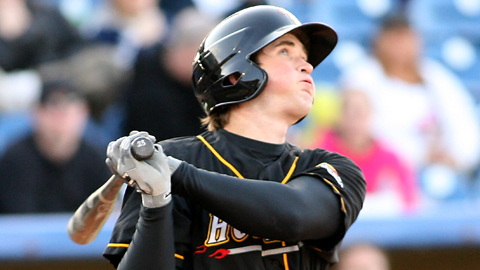 Jeff Malm is third in the Midwest League with a .517 slugging percentage.