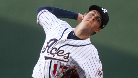 Trevor Bauer is 11-1 in 18 Minor Leaguer games this year.